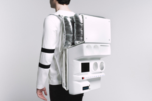Technopicnic Backpack: Source: Diego ENE for Atelier Teratoma