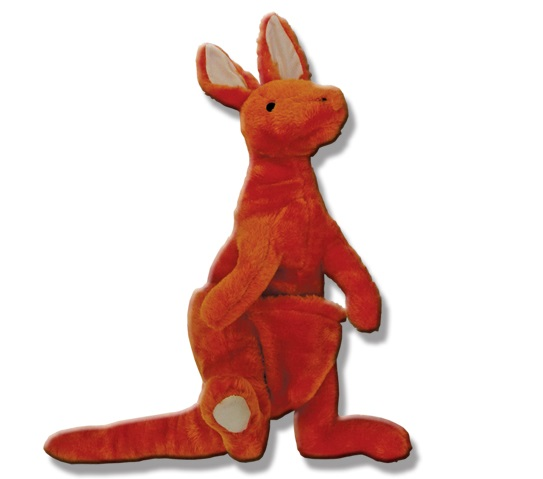 Australian Kangaroo Dog Toy: image via topdogs.com.au