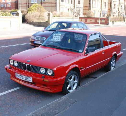 """Ultimate Hauling Machine: The Top 10 """"What If?"""" BMW Pickup"""