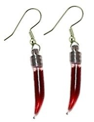 Blood Vial Earrings