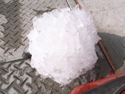Ball of Ice: Source: Flickr