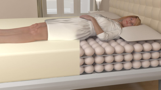 Balluga Smartbed: image courtesy of Balluga Smart Interactive Beds