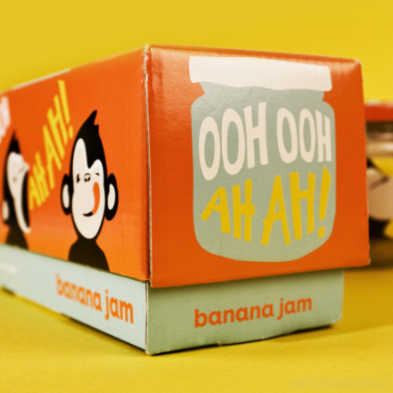 Ooh Ooh Ah Ah Banana Jams Boxed Set
