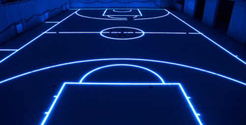 ASB GlassFloor Basketball Court