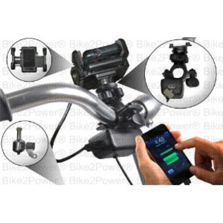 SpinPOWER Bicycle USB Charger Kit For Smartphones