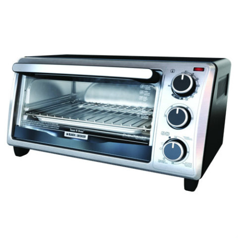 Black & Decker 4-Slice Toaster Oven: Toaster Ovens are a great alternative to microwaving