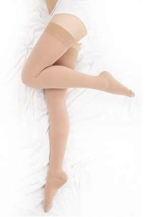 BriteLeafs Thigh High Compression Stockings: image via amazon.com
