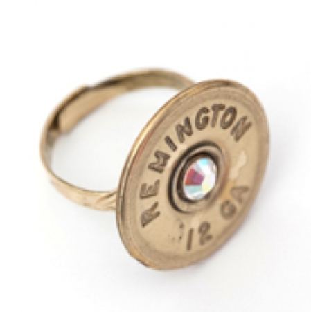 A bullet ring from the Bullet Designs, LLC line.