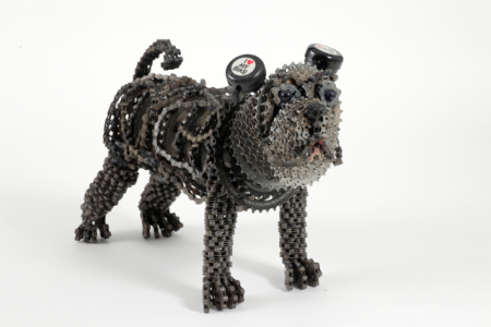 "Nirit Levav Dog Sculptures - ""Bully"""