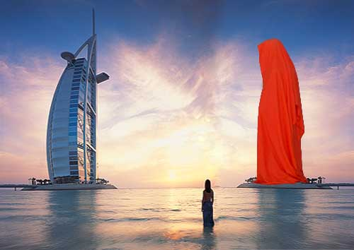 Guardians of Time: Burj-Al-Arab Hotel, Dubai