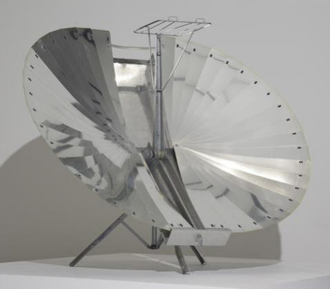 Solnar Tarcici Collapsible Solar Cooker by Dr. Adnan Tarcici, 1970: © 1970, part of the MoMA collection, image via MoMA.org