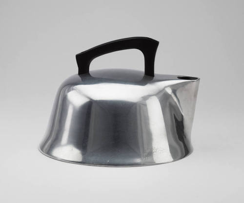 Tea Kettle, Trace and Warner, 1939: © 1939, part of the MoMA collection, image via MoMA.org