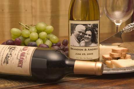 Personalized wine bottle!:  personalwine.com