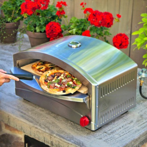 Camp Chef Italia Artisan Pizza Oven: Old World brick-oven style pizzas every time