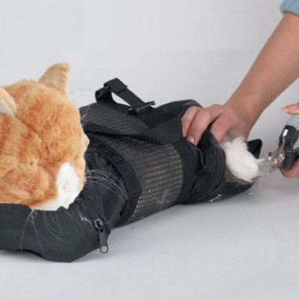 Cat Grooming Bag, perfect for a visit to the vet's office