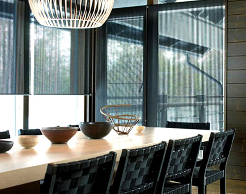 Woodnotes Roller Blind With Chains: ©Woodnotes