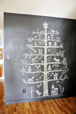Chalkboard Christmas Tree