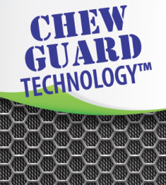 Hear Doggy Martians have Chew Guard Technology