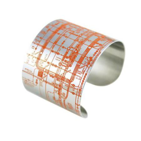 Chicago Metro Cuff (Orange)