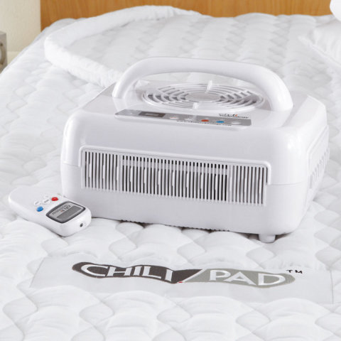 ChiliPad Sleep Technology Mattress Pad Cooling Machine: Innovative Cooling/Heating Bedding System