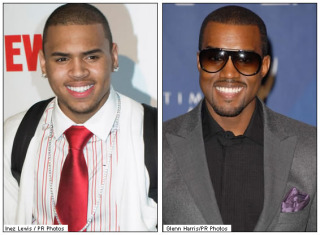 Chris Brown & Kanye West - Cut From The Same Cloth!