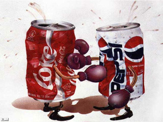 Cola Wars - Coke vs Pepsi