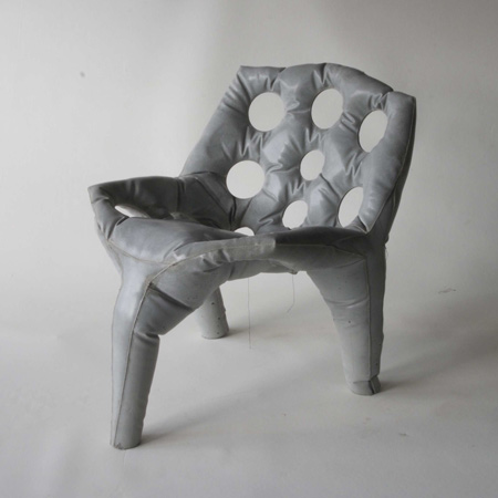 Concrete Cloth Chair: Source: Tejo.com