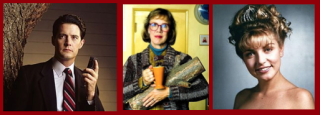 Cooper, Log Lady & Laura Palmer
