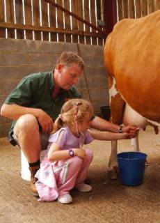 This cow is milked with love. (via visitbuckinghamshire.org)