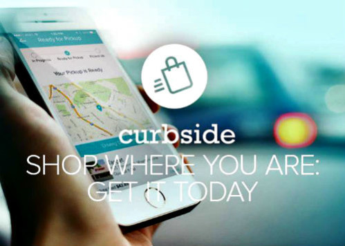 Curbside App Allows You to Shop Locally & Receive Packages From Your Car: Curbside App image via Curbside Facebook