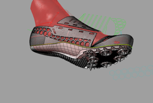 04b71c0bae3f 3D Printing Makes Track Spikes Custom Designed For Performance Possible