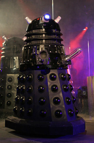 Dalek (A major enemy of Dr. Who) (Photo by Tony Hisgett/Creative Commons via Wikimedia)