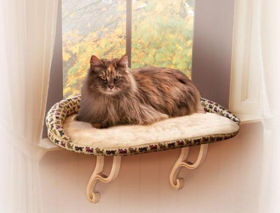 K&H Self Warming Kitty Sill