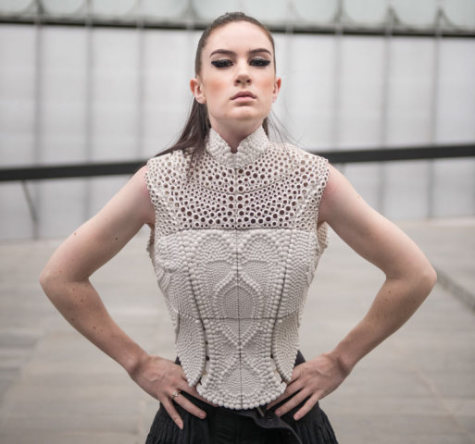 Water-Inspired 3-D Printed Top: Source: Design-Milk.com
