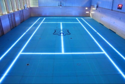 ASB GlassFloor Tennis Court