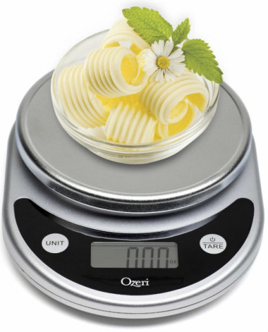 Counting calories: A new digital kitchen food scale takes all the guesswork out of cooking