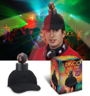 Disco Ball Hat