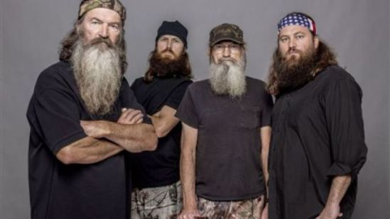 Phil, Jase, Si, and Willie, A&E Duck Dynasty: image via Quaker Pet Group