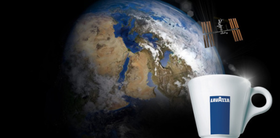 Lavazza espresso is going to the International Space Station: image: Lavazza