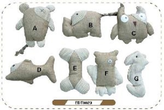 Chinese Ecological Dog Toys: image via jsnkpet.en.made-in-china.com