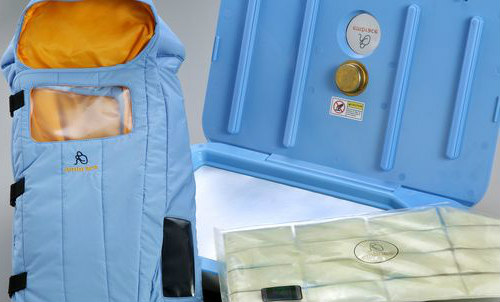 The 'Embrace Nest' Infant Warming Sack: Embrace Nest gives prrmies and low-birth weight babies a chance at survival