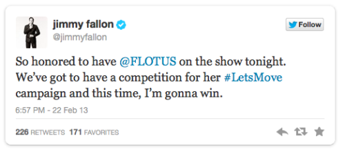 Hip First Lady Bangin' It Out On Twitter, YouTube & Jimmy Fallon [Videos]