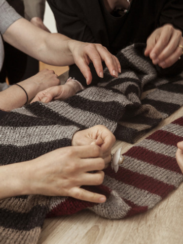 Project Sarejevo  Hand-Made Scarf: Source: Fashion Footprint