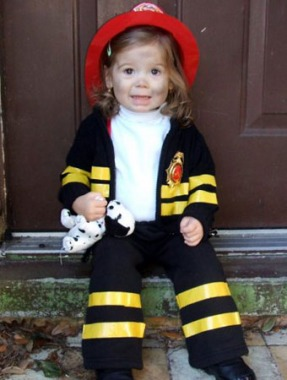 Cutest Firefighter