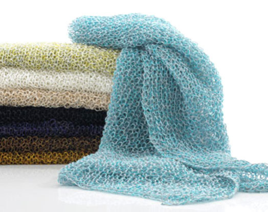 Woodnotes Hand-Knit Scarves: ©Woodnotes
