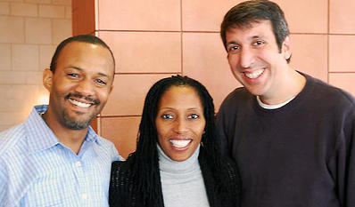 Fresh Moves Founders: Left to right: Steve Casey, Sheela Muhammad, Jeff Pinzino