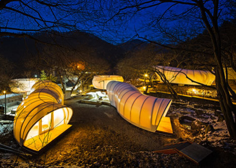 Circular Tent Created by ArchiWorkshop