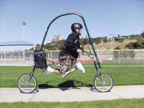 Glidecycle Allows The Disabled To Bike