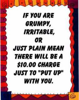 Type D Personalities are usually grouchy or grumpy.: image via Harbon.com