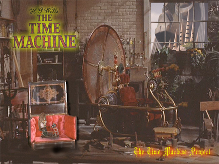 H.G. Wells's Time Machine: Source: fanpop.com